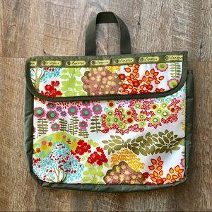 Le Sport Sac floral computer bag